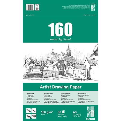 Schut   Schut Artist Drawing Paper 160 gram  30 vel