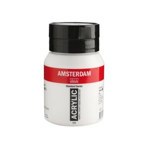 Amsterdam Amsterdam Acrylverf 500 ml Titaanwit 105
