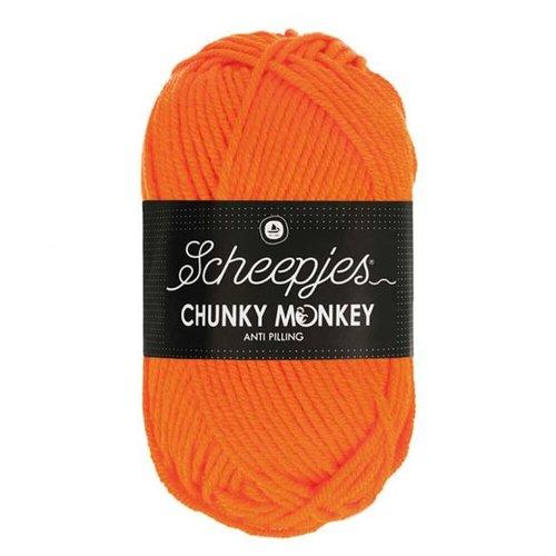 Scheepjeswol Scheepjes Chunky Monkey 100 gram 2002 Orange