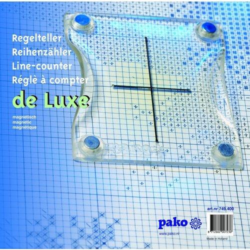Pako Pako Regelteller de luxe magnetisch met metalen plaat