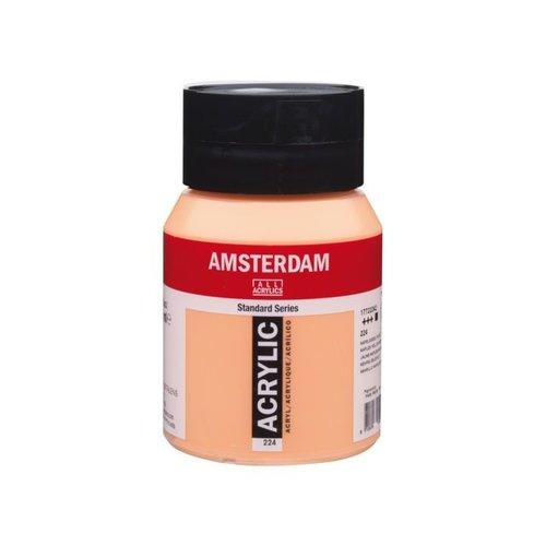 Amsterdam Amsterdam Acrylverf 500 ml Napelsgeel Rood 224