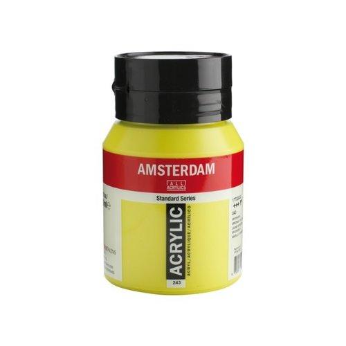 Amsterdam Amsterdam Acrylverf 500 ml Groengeel 243