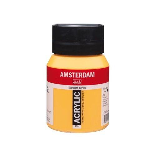 Amsterdam Amsterdam Acrylverf 500 ml Goudgeel 253