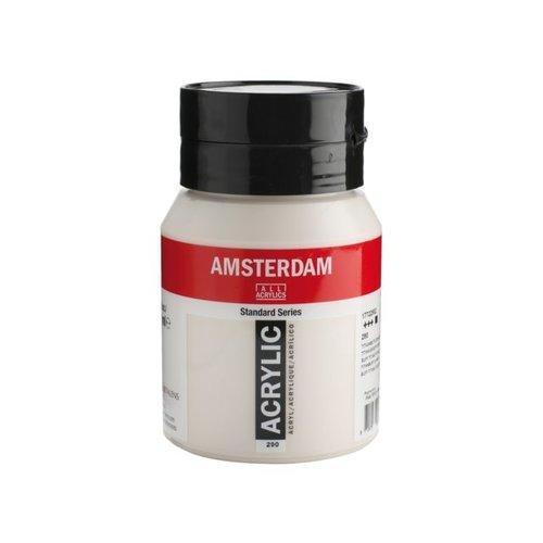 Amsterdam Amsterdam Acrylverf 500 ml Titaanbuff Donker 290
