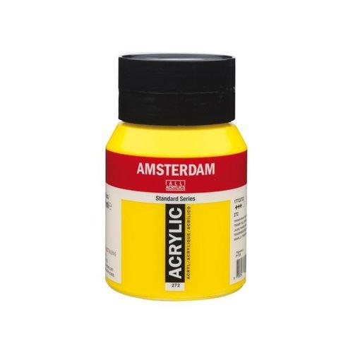 Amsterdam  Amsterdam Acrylverf 500 ml Transparantgeel Middel 272