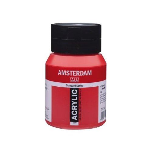 Amsterdam Amsterdam Acrylverf 500 ml Naftolrood Donker 399