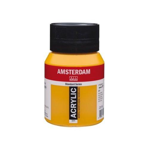 Amsterdam Amsterdam Acrylverf 500 ml Goudoker 231