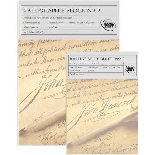 Ami Kalligrafie blok No.2 A4 Chamois 50 vel 95 gram