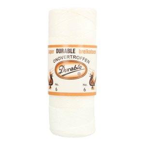 Durable Durable Breikatoen nr 6 100 gram Wit