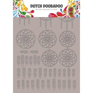 Dutch Doobadoo Dutch Doobadoo Greyboard Art Dromenvanger A5 492.006.007