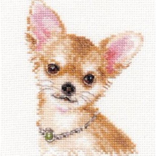 Alisa Alisa Borduurpakket Chihuahua 1-30