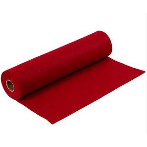Creotime Rol Hobbyvilt bordeaux rood 45 cm x 5 mtr x 1,5mm