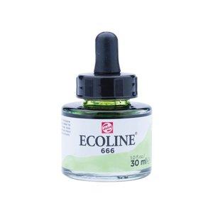 Ecoline Ecoline Vloeibare Waterverf Flacon 30 ml Pastelgroen 666
