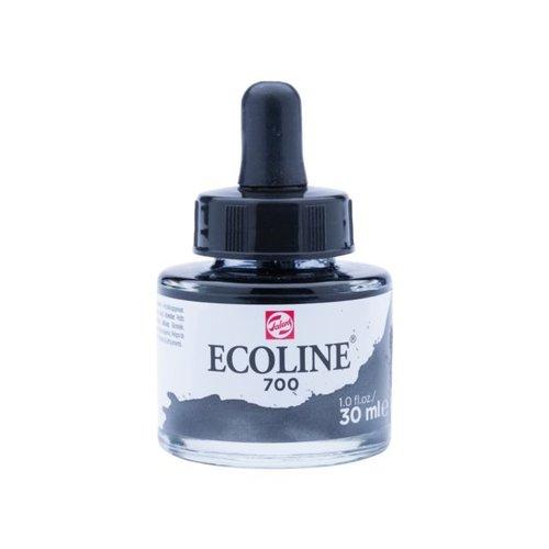 Ecoline Ecoline Vloeibare Waterverf Flacon 30 ml Zwart 700