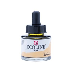 Ecoline Ecoline Vloeibare Waterverf Flacon 30 ml Goud 801