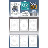 Stitch and Do Cards Only Stitch A6 - 005