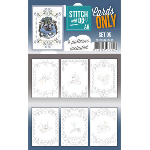 Stitch and Do  Stitch and Do Cards Only Stitch A6 - 005