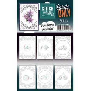 Stitch and Do  Stitch and Do Cards Only Stitch Cards A6 - 003