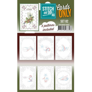 Stitch and Do  Stitch and Do Cards Only Stitch Cards  A6 - 002