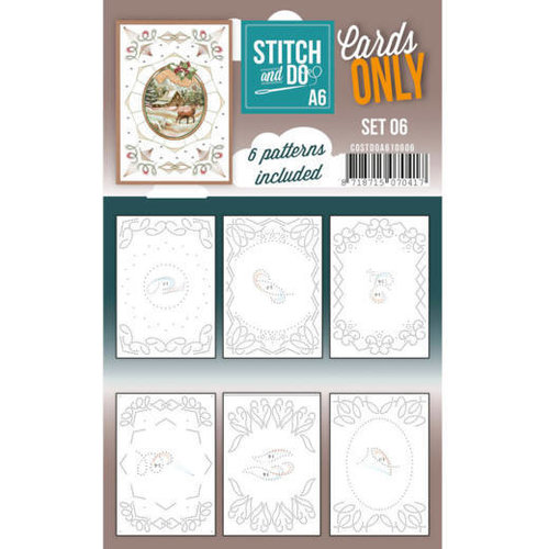 Stitch and Do  Stitch and Do Cards Only Stitch Cards  A6 - 006