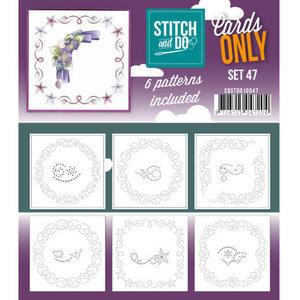 Stitch and Do  Stitch and Do Cards Only Stitch Cards  47