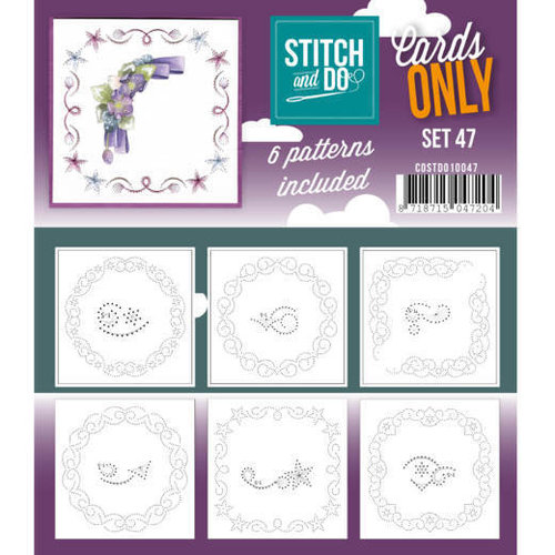 Stitch and Do  Stitch and Do Cards Only Stitch Cards  47