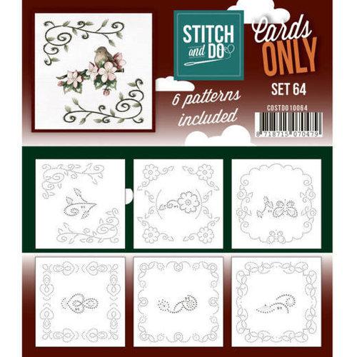Stitch and Do  Stitch and Do Cards Only Stitch Cards 4K - 64