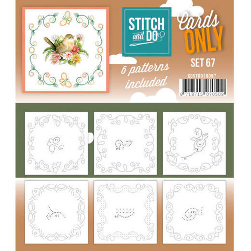 Stitch and Do  Stitch and Do 141 - Jeanine's Art - Salmon Christmas Baubles