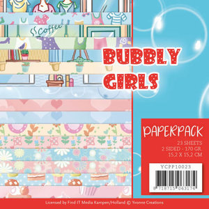 Stitch and Do  Paperpack - Yvonne Creations - Bubbly Girls