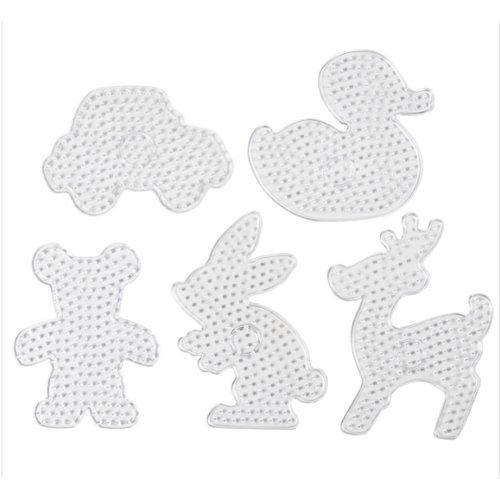 Creotime Maxi strijkkralen Grondplaten set 5 stuks