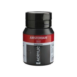 Amsterdam Amsterdam Acrylverf 500 ml Oxydzwart 735
