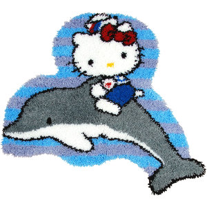 Vervaco Smyrna Knoopkleed Hello Kitty op Dolfijn 0149833