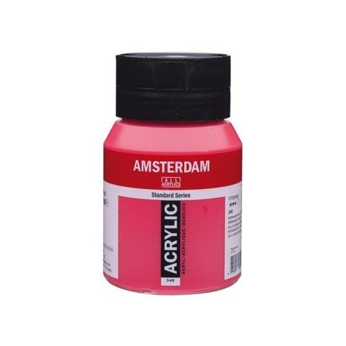 Amsterdam Amsterdam Acrylverf 500 ml Permanentrood Purper 348