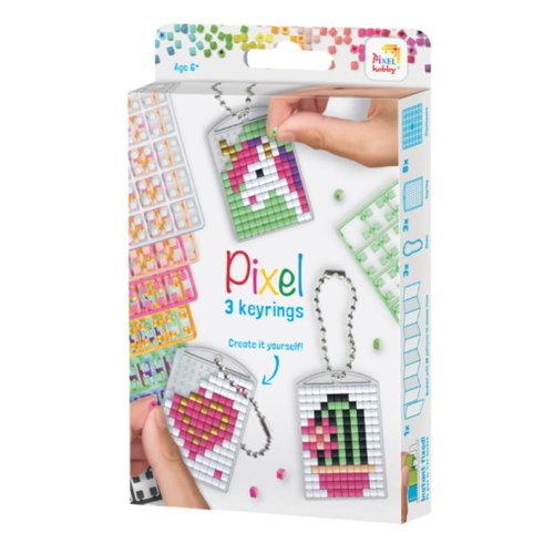 PixelHobby Pixelhobby medaillon set schattig