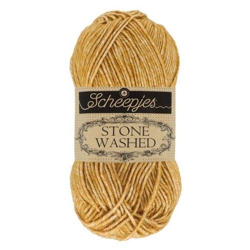 Scheepjeswol Scheepjes Stone Washed 50 gr - 809 Yellow Jasper