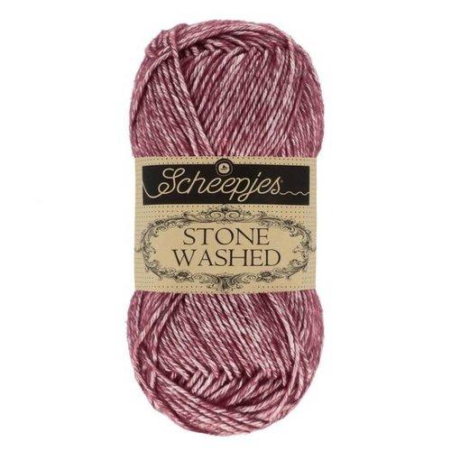 Scheepjeswol Scheepjes Stone Washed 50 gr - 810 Garnet