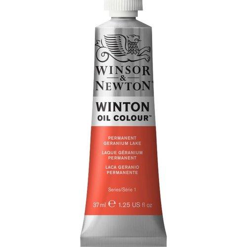 Winsor & Newton Winton olieverf 37 ml Permanent Geranium Lake
