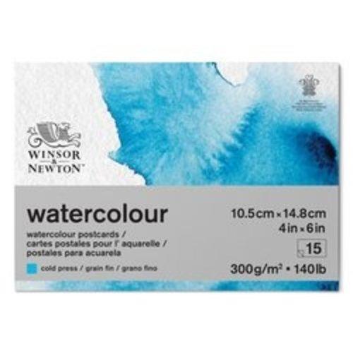 Winsor & Newton Winsor & Newton Classic Aquarelpapier Grain fin Blok 300 gram