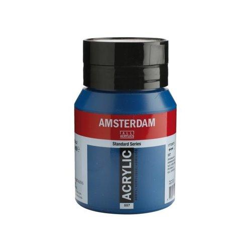 Amsterdam Amsterdam Acrylverf 500 ml Groenblauw 557