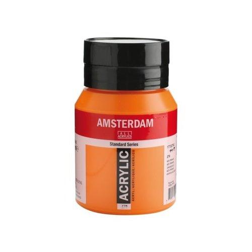 Amsterdam Amsterdam Acrylverf 500 ml Azo oranje 276