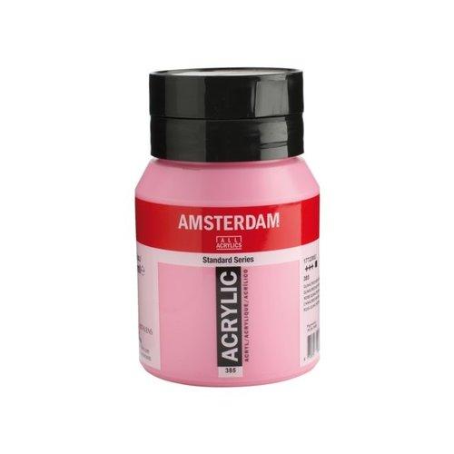 Amsterdam  Amsterdam Acrylverf 500 ml Quinacridone roze Licht 385