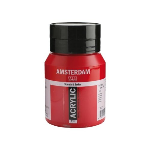 Amsterdam Amsterdam Acrylverf 500 ml Karmijn 318