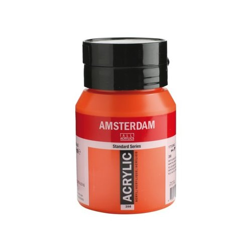 Amsterdam Amsterdam Acrylverf 500 ml Naftolrood Licht 398
