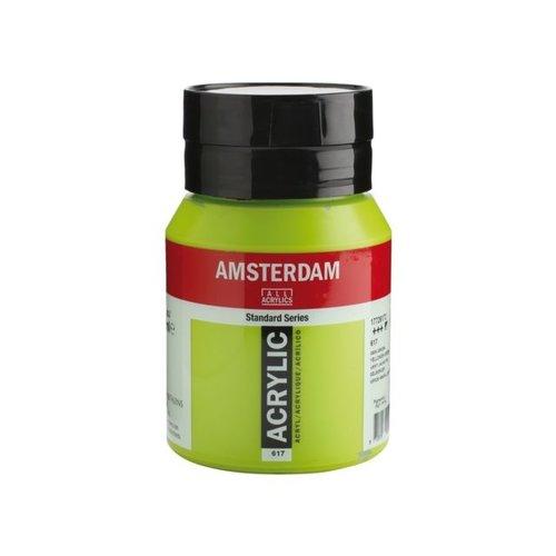 Amsterdam Amsterdam Acrylverf 500 ml Geelgroen 617