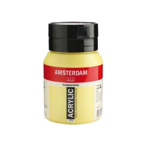 Amsterdam Amsterdam Acrylverf 500 ml Nikkeltitaangeel 274