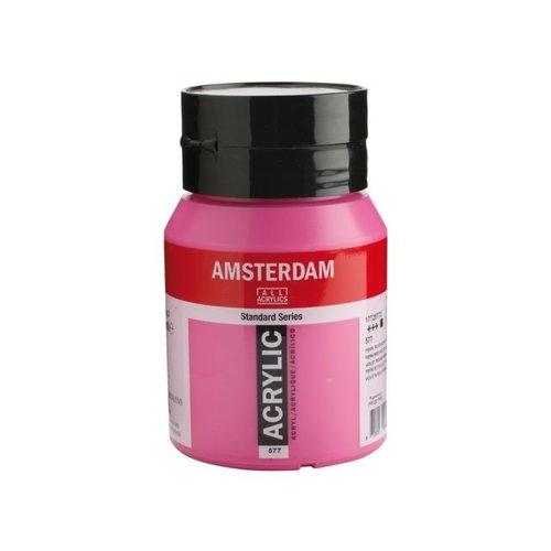Amsterdam  Amsterdam Acrylverf 500 ml Permanentrood Violet Licht 577