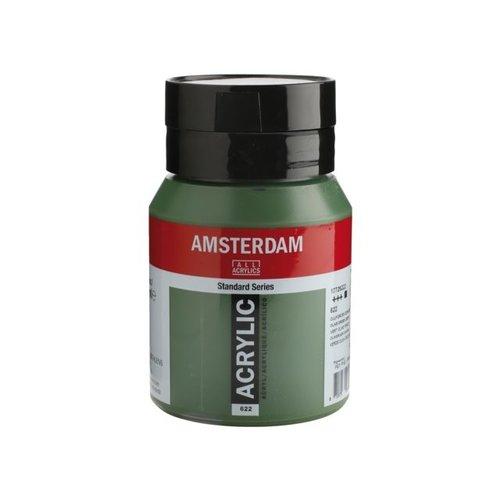 Amsterdam Amsterdam Acrylverf 500 ml Olijfgroen Donker 622