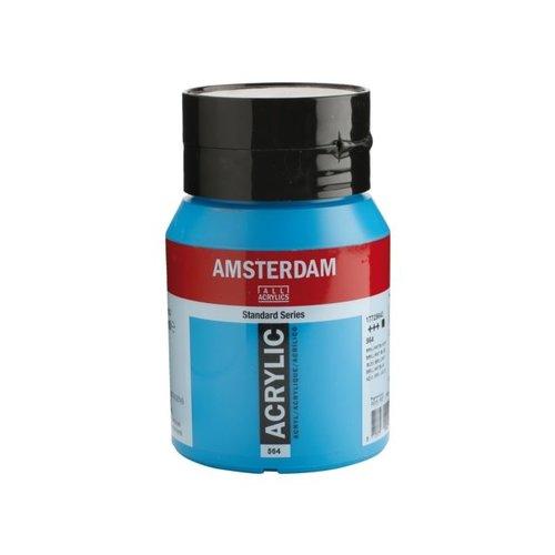 Amsterdam Amsterdam Acrylverf 500 ml Briljantblauw 564