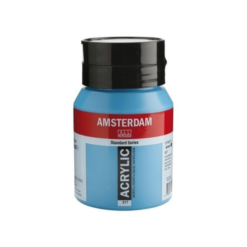 Amsterdam Amsterdam Acrylverf 500 ml Koningsblauw 517