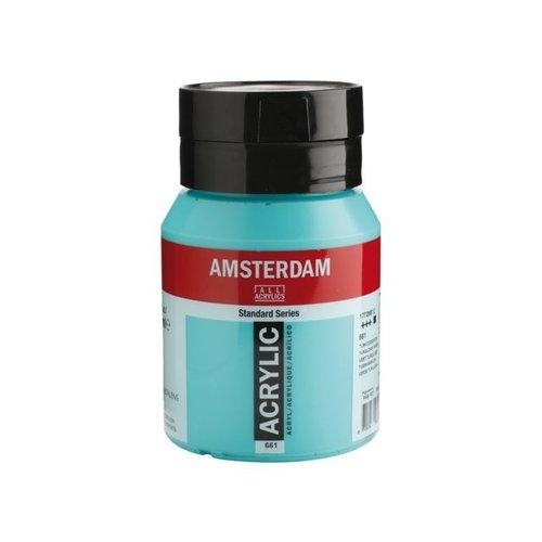 Amsterdam Amsterdam Acrylverf 500 ml Turkooisgroen 661